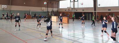 Ritzefeld-Mädels mit starker Leistung im Volleyball (WK2)