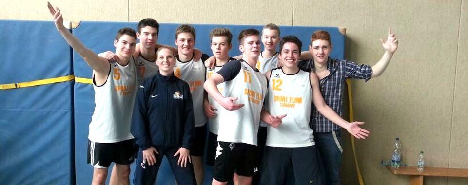 Basketball-Team des Ritze