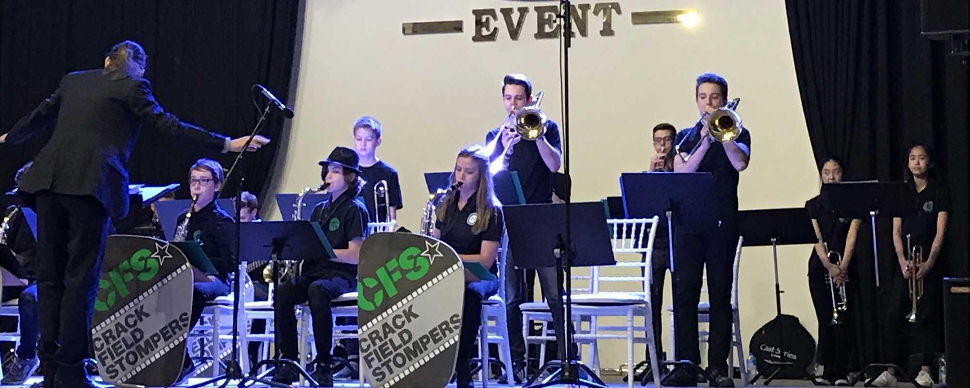 27.11. CFS-Benefizkonzert mit der Big Band des Landespolizeiorchesters NRW