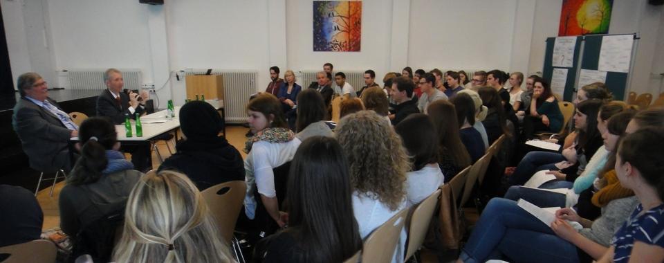 Besuch des Vizepräsidenten des Landtags NRW