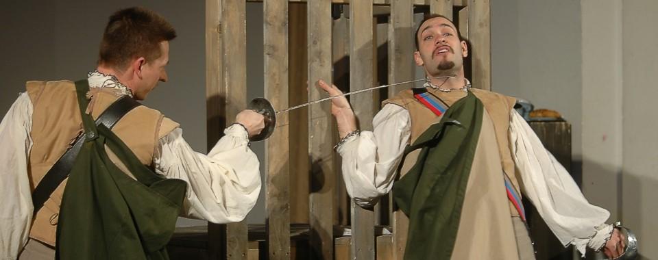 Cyrano im Duell mit Guiche