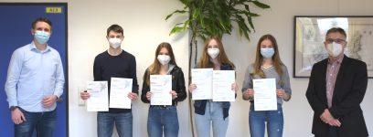 Unsere Jugend forscht – sehr erfolgreich!