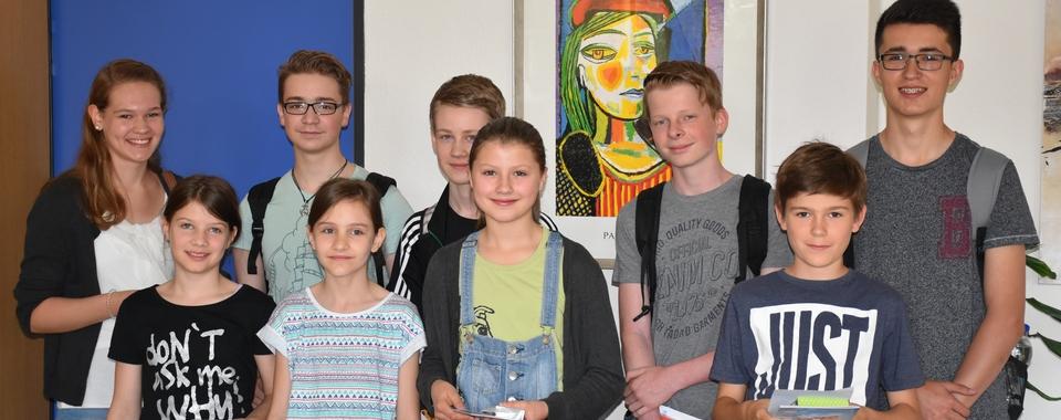 Känguru-Wettbewerb - Preisträger 2016