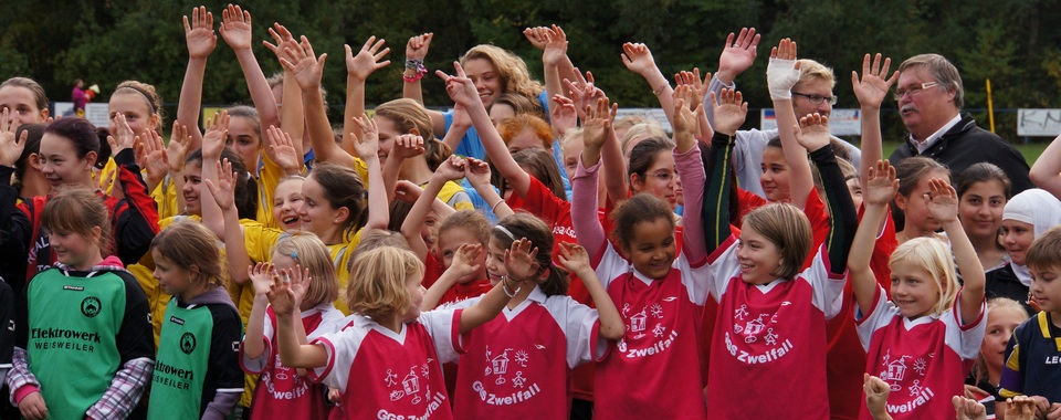 Mädchenfußballtag 2013