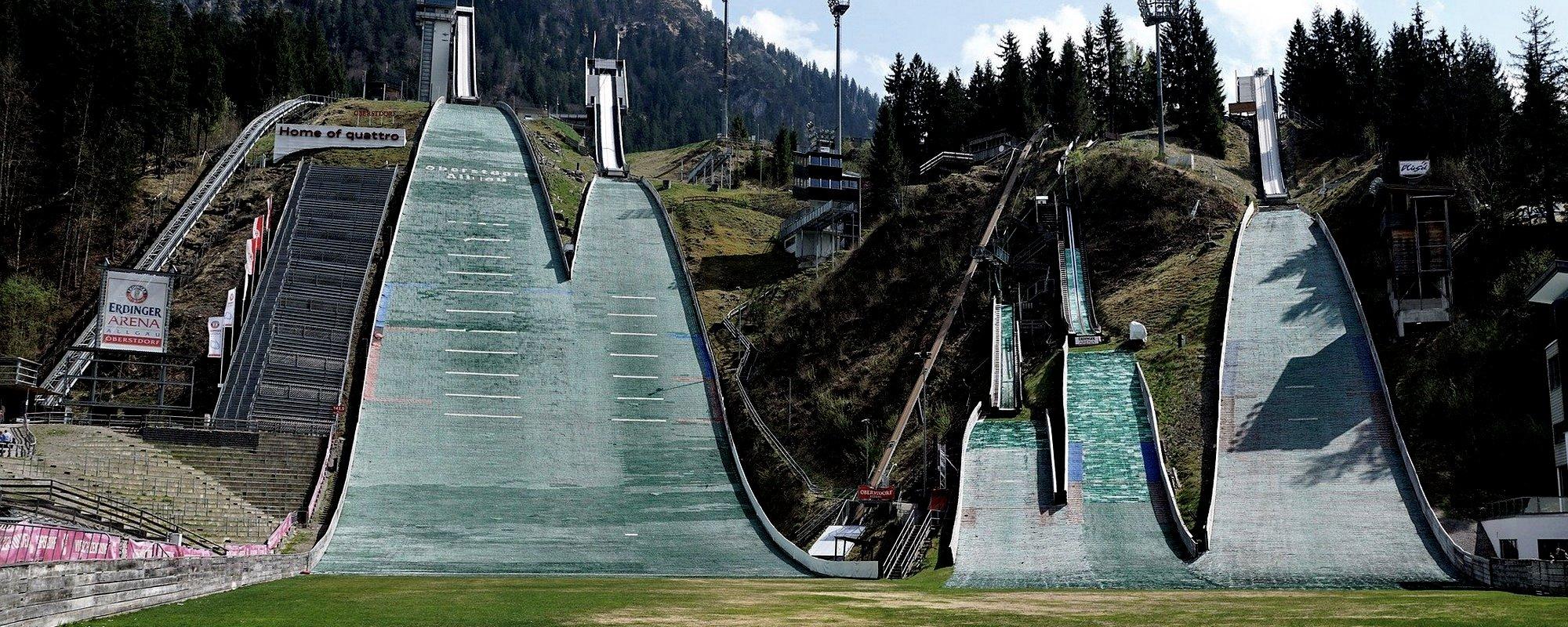 Spannende Skisprung-Mathematik bei der Alympiade