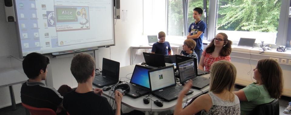 Präsentation der 3D-Programmierung
