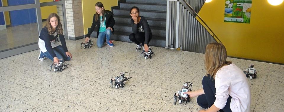 Roboter-Workshop für Mädchen 2015